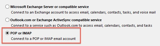 Outlook 2013 Service