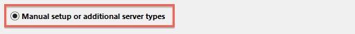 Outlook 2013 Configure